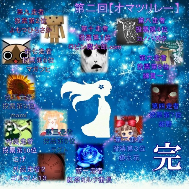 Mountain of Snow Woman【リレー作品①】